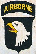 101st Airborne Division Prints - 101st Screaming Eagles Print by Unknown