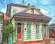 New Orleans Pastels Prints - 102 Print by John Boles