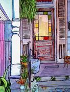 New Orleans Pastels Prints - 103 Print by John Boles