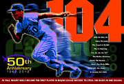 Major League Baseball Digital Art Posters - 104 Poster by Ron Regalado
