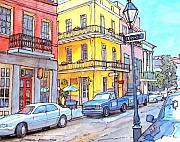 New Orleans Pastels Prints - 107 Print by John Boles