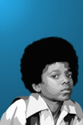 Jackson Five Framed Prints - 108. Easy as 123 Framed Print by Tam Hazlewood