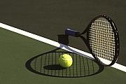 Tennis Art - 10sne1 by Gerard Fritz