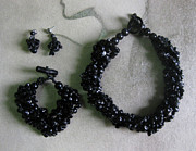 Pinococo Jewelry - 11-017 Black  by Lyn Deutsch