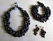 Dark Jewelry - 11-017 Cocoa by Lyn Deutsch