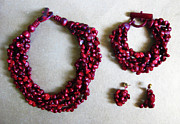 Pinococo Jewelry - 11-017 Crimson by Lyn Deutsch