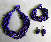 Pinococo Jewelry - 11-017 Violet by Lyn Deutsch