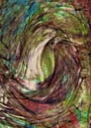 Water Abstracts Prints - 11-03-11 Print by Gwyn Newcombe