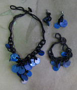 Exotic Jewelry - 11-392 Blue by Lyn Deutsch