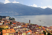 From Above Framed Prints - Ascona - Ticino Framed Print by Joana Kruse
