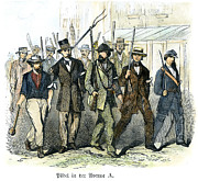 American City Prints - Civil War: Draft Riots Print by Granger