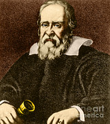 Observation Framed Prints - Galileo Galilei, Italian Polymath Framed Print by Science Source