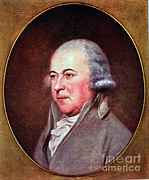 Peale Photo Posters - John Adams, 2nd American President Poster by Photo Researchers
