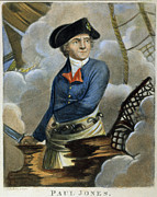 Wooden Ship Posters - John Paul Jones (1747-1792) Poster by Granger