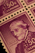 Susan B. Anthony Posters - Magnification Of Classic 19th Century Poster by Phil Schermeister