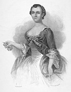 Martha Dandridge Custis Prints - Martha Washington Print by Granger