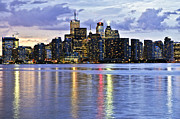 Metropolis Photo Prints - Toronto skyline Print by Elena Elisseeva