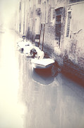 Abandoned Boats Prints - Venezia Print by Joana Kruse