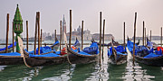 Peaceful Scene Metal Prints - Venice - Italy Metal Print by Joana Kruse