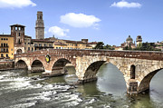 Stone Bridge Photos - Verona by Joana Kruse