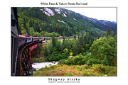 Signed Photos - White Pass and Yukon Route Railroad by William Jones