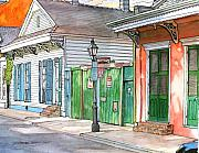 New Orleans Pastels Prints - 110 Print by John Boles