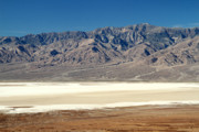 Evaporation Prints - 11049 feet Telescope mountain in Death Valley Print by Pierre Leclerc
