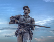 Regiment Digital Art - 111th New York Infantry Monument at Gettysburg Battlefield by Randy Steele