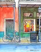 New Orleans Pastels Prints - 112 Print by John Boles
