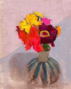 Floral Still Life Prints - RCNpaintings.com Print by Chris N Rohrbach
