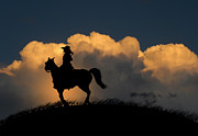 Cowgirl Photos - 1127 by Peter Holme III