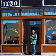Furniture Store Paintings - 1130 High St. by Linda Apple