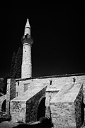Kypros Framed Prints - 11th Century Touzla Mosque In Larnaca Republic Of Cyprus Framed Print by Joe Fox
