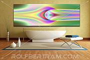 Rolf Bertram - An Example of Modern Art by Rolf Bertram in an Interior Design Setting