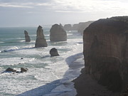 12 Apostles Framed Prints - 12 Apostles Framed Print by David Peters