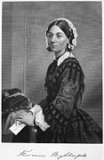 Autograph Art - Florence Nightingale by Granger