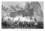 Mob Prints - France: Revolution Of 1848 Print by Granger
