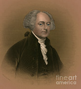 U.s.a. Posters - John Adams, 2nd American President Poster by Photo Researchers