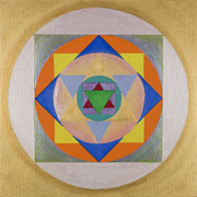 Teachings Originals - 12 Rays Mandala by Susan Driver