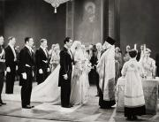 Vow Prints - Silent Film Still: Wedding Print by Granger