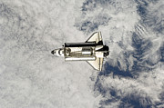 Single-engine Photos - Space Shuttle Endeavour by Stocktrek Images