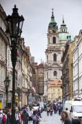 Charles Bridge Prints - Streets of Prague Print by Andre Goncalves