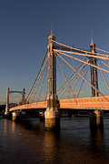 The Albert Bridge London Print by David Pyatt