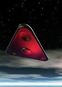 Paranormal Digital Art - Ufo, Artwork by Victor Habbick Visions