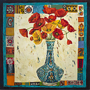 Flower Still Life Prints Posters - Untitled Poster by Mahtab Alizadeh