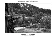 Signed Photo Prints - White Pass and Yukon Route Railroad Print by William Jones