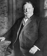 Taft Posters - William Howard Taft Poster by Granger