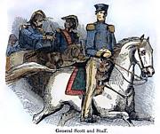 Winfield Scott (1786-1866) Print by Granger