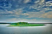 1206-9119 Arkansas River At Spadra Park  Print by Randy Forrester