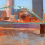Pittsburgh Painting Prints - RCNpaintings.com Print by Chris N Rohrbach